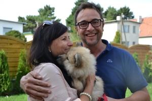 Unser Akim der jetzt Elvis heißt kommt zu einer ganz lieben Familie nach Tirol