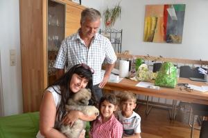 Unser Artus ist auch zu einer  ganz lieben Familie in die Steiermark gekommen